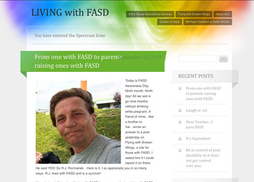 Adult living with FASD