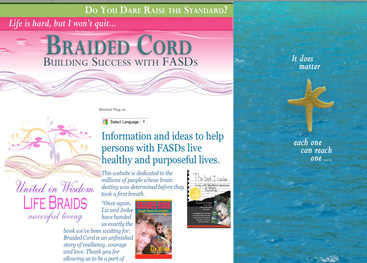 Braided Cord strategies help young people walk the FASD path